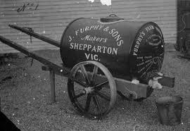 The authentic furphy water cart